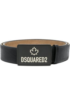 Dsquared2 Men Belts - Logo-print leather belt