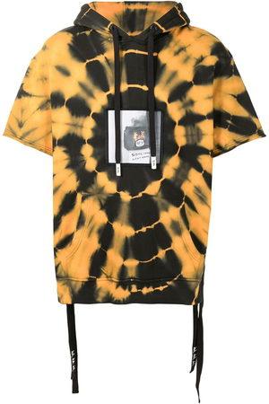 HACULLA Men Hoodies - Tie-dye short sleeve hoodie