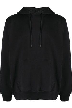 Msgm Logo print detail hoodie