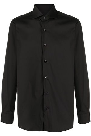 BARBA Men Business - Plain button shirt