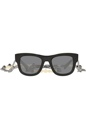Dolce & Gabbana Men Sunglasses - D-frame chain-embellished sunglasses