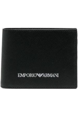Emporio Armani Men Wallets - Logo-print billfold wallet
