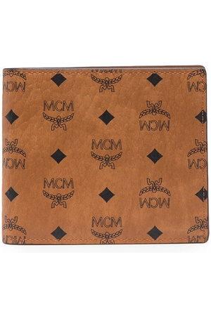 MCM Faux leather bi-fold wallet