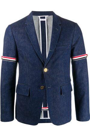 Thom Browne Unconstructed RWB stripe blazer