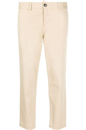 Dsquared2 Mid-rise cropped trousers