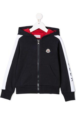 Moncler Girls Hoodies - Logo-patch hoodie
