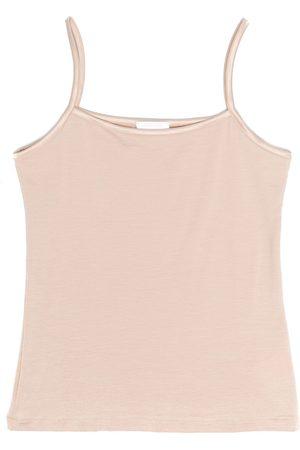 La Perla Satin-trimmed sleeveless top