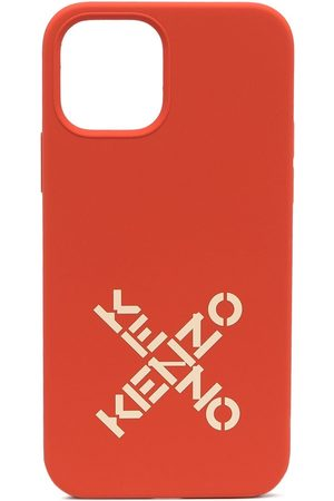Kenzo Men Phone Cases - Logo-print iPhone 12 Pro case