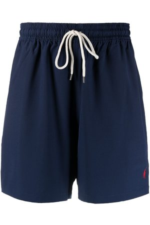 Polo Ralph Lauren Men Board Shorts - Logo-embroidered swim trunks