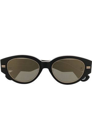 A Bathing Ape Sunglasses - Camouflage-print round-frame sunglasses