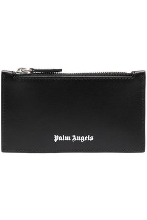 Palm Angels ESSENTIAL ZIP POUCH WHITE