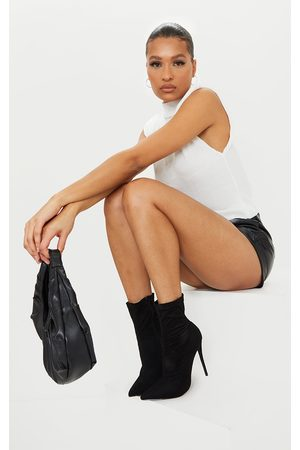 PrettyLittleThing Wellingtons - High Point Stiletto Sock Boot