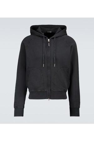 Tom Ford Zipped hooded sweatshirt