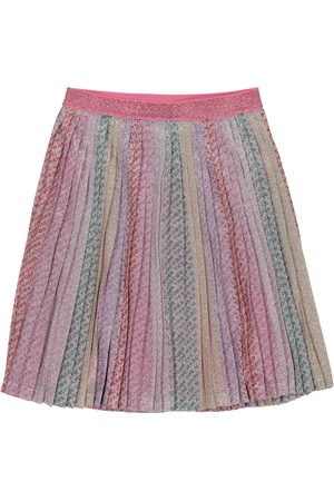The Marc Jacobs Glitter pleated skirt