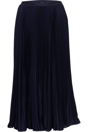 Polo Ralph Lauren High-rise pleated maxi skirt