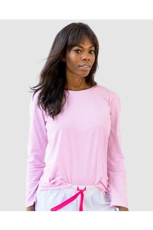 Sant And Abel Women Nightdresses & Shirts - Women's Jersey Long Sleeve Top - Sleepwear Women's Jersey Long Sleeve Top