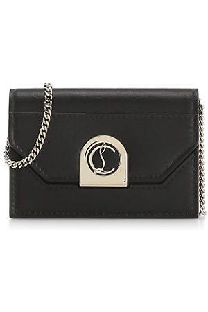 Christian Louboutin Elisa Leather Crossbody Bag