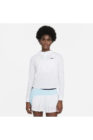 Nike Court Dri-FIT Victory Women's Long-Sleeve 1/2-Zip Tennis Top