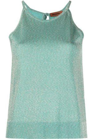Missoni Glitter-knit vest top