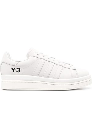 Y-3 Men Sneakers - Tonal leather trainers