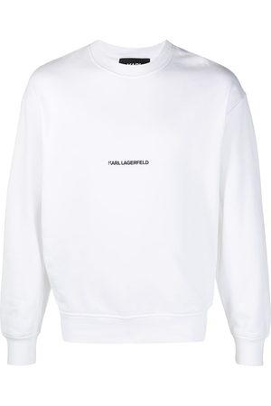 Karl Lagerfeld Logo-print crew neck sweatshirt