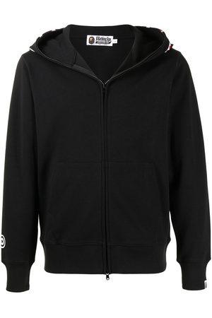 A Bathing Ape Shark-print zip-up hoodie
