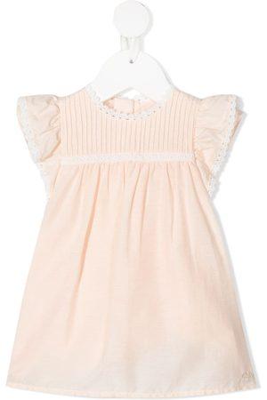Chloé Ruffled sleeveless midi dress
