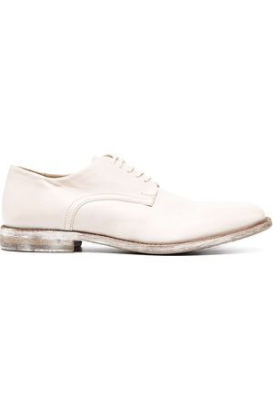 Moma Women Brogues - Distressed sole finish oxford shoes