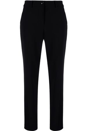 Moschino High-waisted slim fit trousers