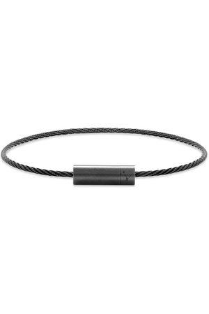 Le Gramme Brushed Ceramic Le Cable Bracelet