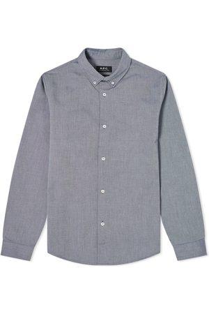 A.P.C Men Business - Button Down Oxford Shirt