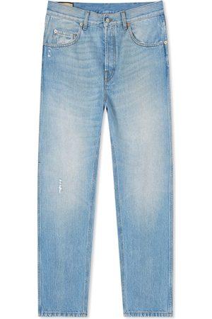Gucci Light Wash Tapered Jean