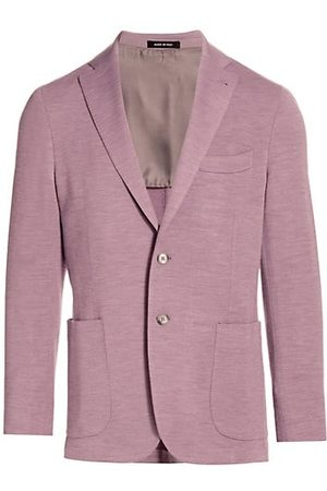 Saks Fifth Avenue COLLECTION Heathered Knit Sportcoat