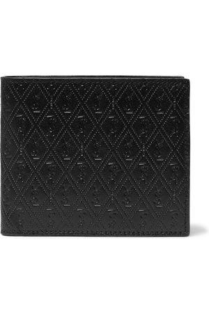 Saint Laurent East/West Logo-Debossed Leather Billfold Wallet