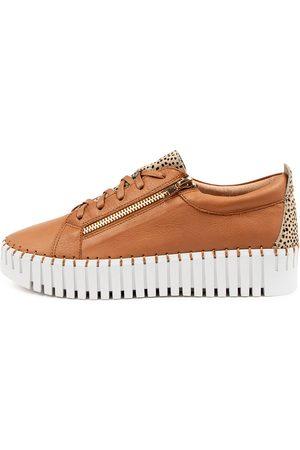 Django & Juliette Bump Dj Scotch Tan Speckled Sneakers Womens Shoes Casual Casual Sneakers