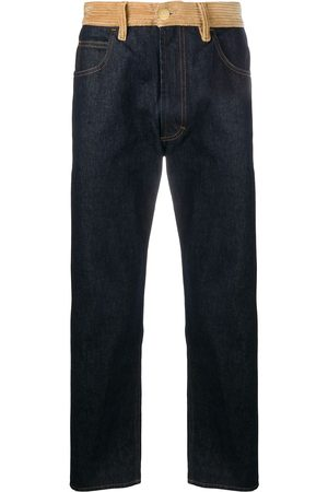 Marni Corduroy-panelled jeans