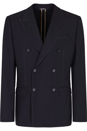 Dolce & Gabbana Double-breasted cashmere blazer