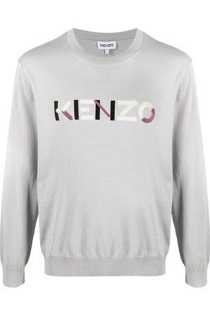 Kenzo Logo-embroidered jumper