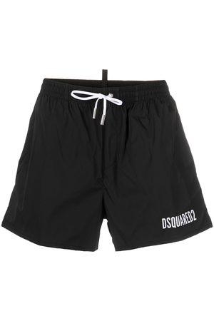 Dsquared2 Men Board Shorts - Logo-print swim shorts