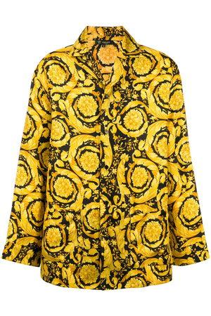 VERSACE Men Casual - Barocco-print pyjama shirt