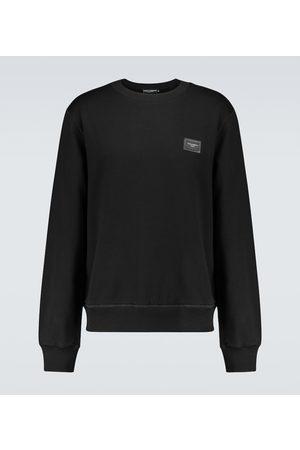 Dolce & Gabbana Cotton jersey crewneck sweatshirt
