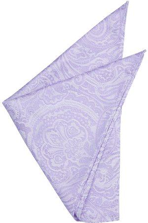 Yd. Men Pocket Squares - Williams Paisley Pocket Square Lilac One