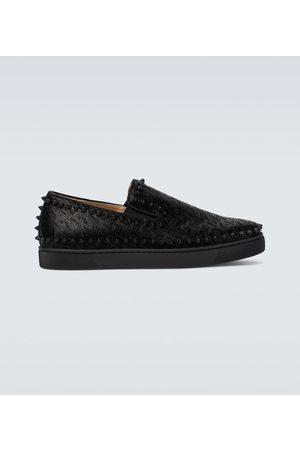 Christian Louboutin Pik Boat shoes