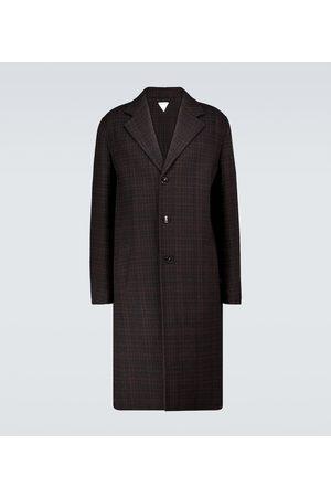 Bottega Veneta Checked double-faced wool coat