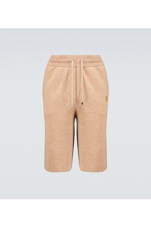 Burberry Hurst cashmere shorts