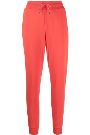 Armani Women Joggers - Logo-patch track pants