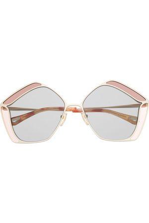Chloé CH0026S oversize-frame sunglasses