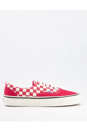 Vans Era 95 dx sneakers in red and white-Multi