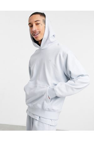 adidas Premium hoodie co-ord in halo blue