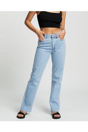ABrand A '94 High Straight Jeans - High-Waisted (Walkaway) A '94 High Straight Jeans